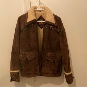 Vintage Suede and Sherling Jacket